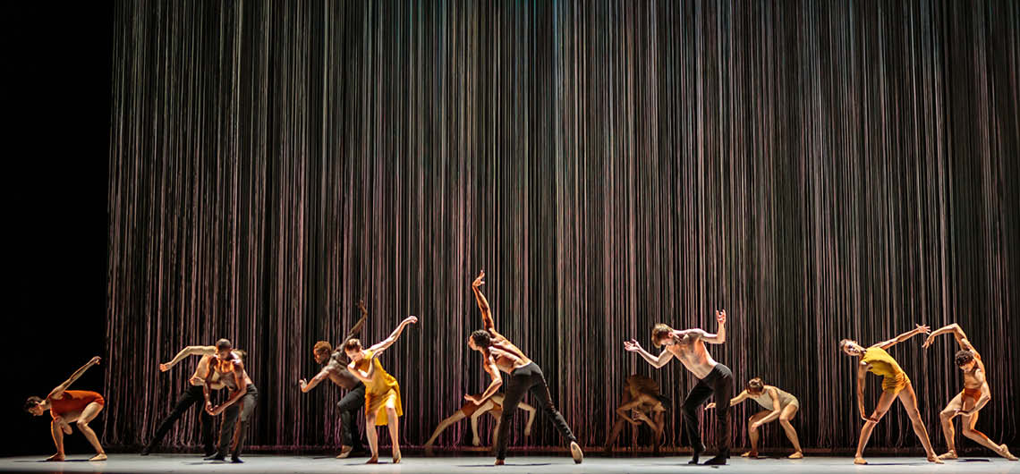Vergangenen Samstag feierte Biophony des Alonzo King Ballets im Festspielhaus St. Pölten seine österreichische Erstaufführung.  © Chris Hardy