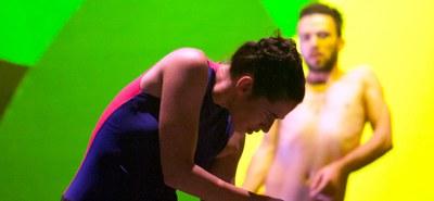 """Sasha Waltz sorgt mit der Österreich-Premiere von """"Sacre"""" für eine fulminante Eröffnung eines Themenschwerpunkts um Strawinskis """"Le Sacre du Printemps"""" im Festspielhaus St. Pölten. © Bernd Uhlig"""